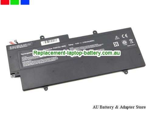 image 5 for Au online offer Toshiba PA5013U-1BRS Battery For Portege Z830 Z930 Z835 Z935 Series Laptop 47Wh Black