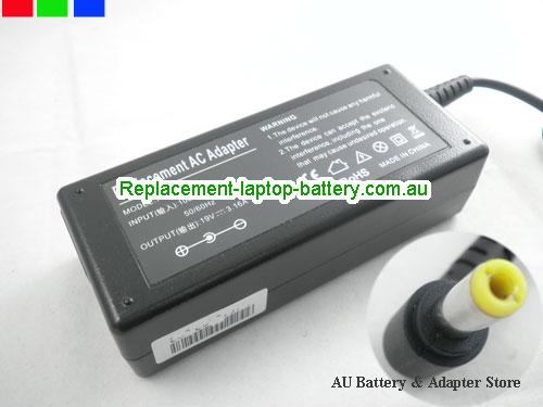 AU TOSHIBA 19V 3.16A 60W Laptop ac adapter