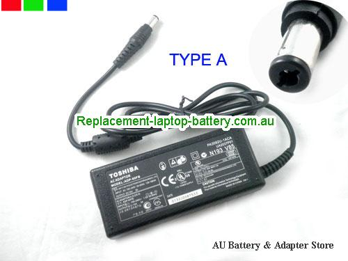AU TOSHIBA 15V 3A 45W Laptop ac adapter