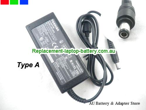 AU TOSHIBA 15V 5A 75W Laptop ac adapter