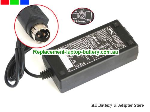 AU TIGER 24V 3.125A 75W Laptop ac adapter