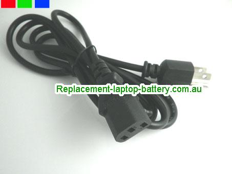 US C13 Ac adapter power cord, TV Power cable, PC power lead